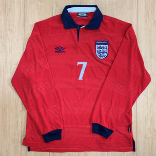 UMBRO - イングランド代表 アウエーユニフォーム 長袖 XL