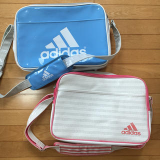 アディダス(adidas)のアディダス 2個 エナメルバッグ  ホームクリーニング済み スポーツバッグ(その他)