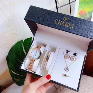 CHANEL - CHANEL腕时計、ブレスレット、指輪、イヤリング、ネックレス