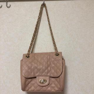 ジーユー(GU)のくすみピンクのハンドバッグ(ハンドバッグ)