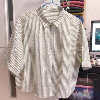 ジーユー(GU)のGU 半袖シャツ(シャツ/ブラウス(半袖/袖なし))