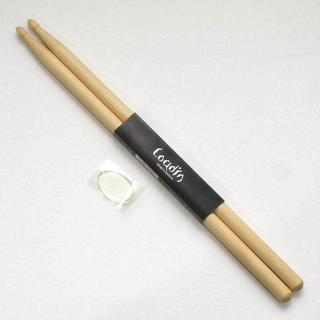 新品ドラムスティック LOUDIN DS400 5B ドラム音色調整用パッド付(スティック)
