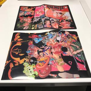 ワンピース オリジナルブックカバー 2枚セット(ブックカバー)