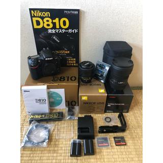 Nikon - D810 広角 標準 レンズ2本 RRSL型プレート付き