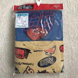ディズニー(Disney)の新品 ディズニー カーズ 2枚組 長袖シャツ 肌着 120 キッズ インナー(下着)