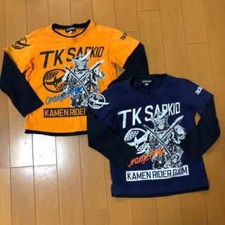 ザショップティーケー(THE SHOP TK)のTK SAPKID 仮面ライダー 鎧武 ロンT(Tシャツ/カットソー)