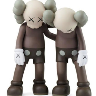 MEDICOM TOY - KAWS ALONG THE WAY BROWN/新品未開封