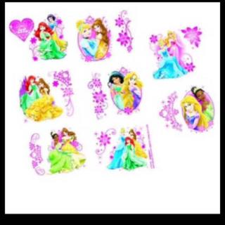 Disney - プリンセス タトゥーシール ハロウィン