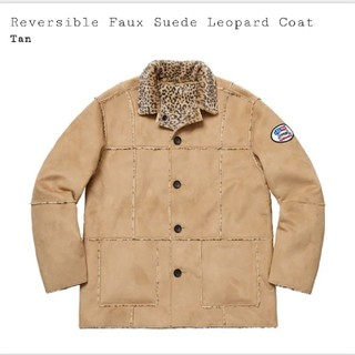 Supreme - supreme Reversible Faux Suede Leopard