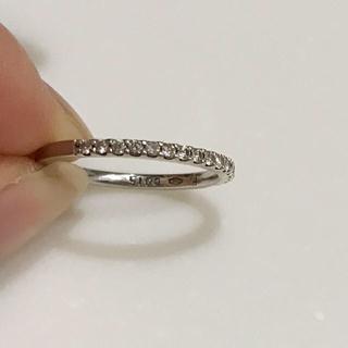 ポンテヴェキオ(PonteVecchio)の美品 ポンテヴェキオ ダイヤ0.15 指輪 k18WG(リング(指輪))