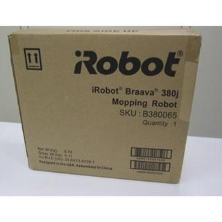 iRobot - 新品未開封! iRobot アイロボット 床ふきロボット ブラーバ 380j