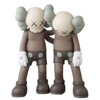 MEDICOM TOY - KAWS ALONG THE WAY BROWN カウズ メディコムトイ