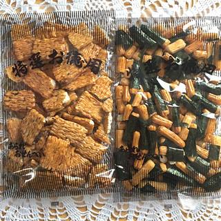 カメダセイカ(亀田製菓)の割れせん②*梅あられ&のりミックス(菓子/デザート)