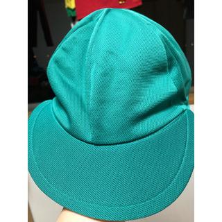 学研 - pienipuu 学研  カラー帽子  緑   着脱式タレ付き 保育園  幼稚園