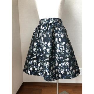 アストリアオディール(ASTORIA ODIER)のアストリア花柄スカート(ひざ丈スカート)