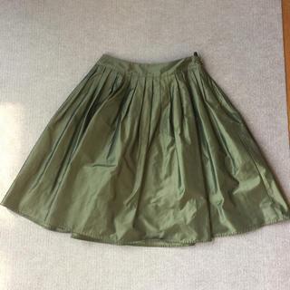 グラスライン(Glass Line)のグラスライン タフタスカート(ひざ丈スカート)