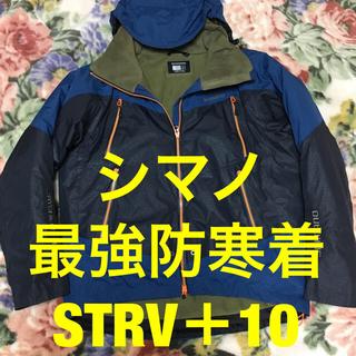 シマノ(SHIMANO)のシマノ DS-HDアドバンスウォームスーツEX ネイビーオーシャンMサイズ (ウエア)