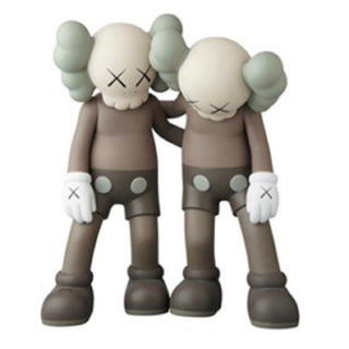 MEDICOM TOY - KAWS ALONG THE WAY BROWN ブラウン