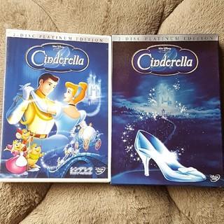 Disney - 〈初回限定生産・2枚組〉シンデレラ プラチナ・エディション('50米)