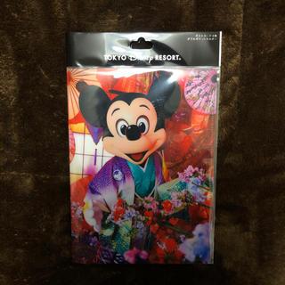Disney - ディズニー ランド イマジニング 蜷川実花 実写 着物 ミッキー ミニー ポスカ