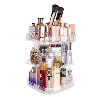 【超便利♪】化粧品収納ボックス 透明アクリル(ドレッサー/鏡台)
