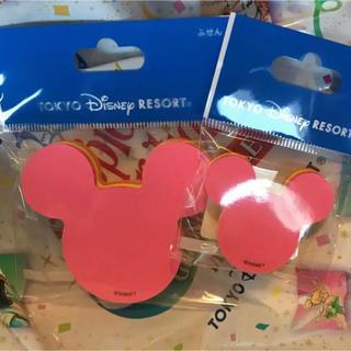 Disney - セット♡新作 ディズニーリゾート ミッキーシェイプ ふせん