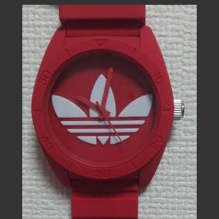 アディダス(adidas)の[新品]adidas 腕時計 SANTIAGO ADH6168 赤 RED(腕時計(アナログ))