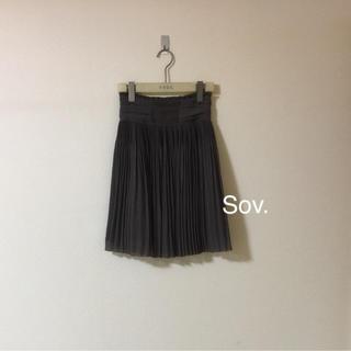 sov.激かわプリーツスカート美品❤️おまとめ割SALE開催中
