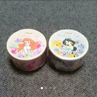 ディズニー(Disney)のアリエル&ジャスミン マスキングテープ②(テープ/マスキングテープ)
