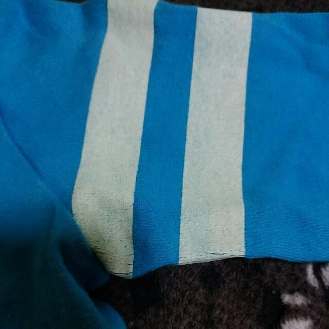 mikihouse(ミキハウス)の80cmブラックベア長袖カットソー車水色ミキハウス キッズ/ベビー/マタニティのベビー服(~85cm)(シャツ/カットソー)の商品写真