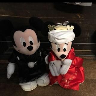 ディズニー ミッキー ミニー ぬいぐるみ 結婚式 ウェルカムドール