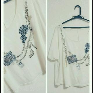 ミスティウーマン(mysty woman)のmystywoman♡トップス(Tシャツ(半袖/袖なし))