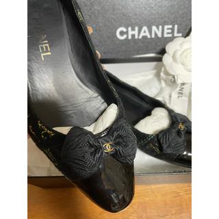 シャネル(CHANEL)のシャネル  ツイード 靴 37(ハイヒール/パンプス)