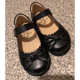 フォーマル靴 女の子 黒 14cm(フォーマルシューズ)