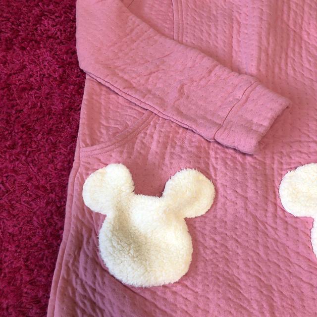 Disney(ディズニー)のマタニティパジャマ 授乳服 ミニー ディズニー ピンク キッズ/ベビー/マタニティのマタニティ(マタニティパジャマ)の商品写真