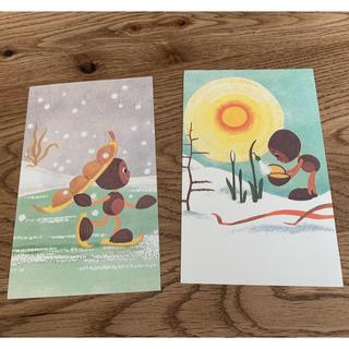 キップコップ ポストカード 2枚(写真/ポストカード)