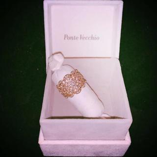 ポンテヴェキオ(PonteVecchio)の定価50万円❗️PonteVecchioポンテヴェキオ  1カラットダイヤリング(リング(指輪))