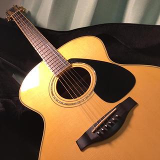 ヤマハ(ヤマハ)のYAMAHA アコースティックギター LJ6(生産完了品) セミハードケース付き(アコースティックギター)
