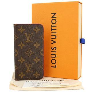 LOUIS VUITTON - ルイヴィトン iPhone X / XS フォリオ モノグラム ローズ ピンク