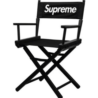 Supreme - supreme directors chair 黒 black