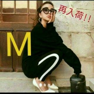 エイチアンドエム(H&M)の新品! H&M サイドライン レギンス M GYDA MOUSSY SLY(レギンス/スパッツ)