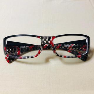 アランミクリ(alanmikli)の超美品 アランミクリ 入手困難 赤×黒の限定カラー 鼻盛り加工済み(サングラス/メガネ)