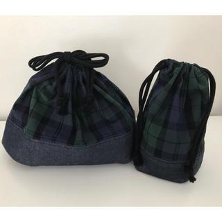 お弁当袋 コップ袋 (ランチボックス巾着)