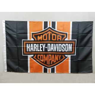 ハーレーダビッドソン フラッグ 旗 タペストリー(ロールスクリーン)