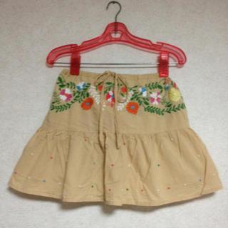 シェル(Cher)のお値下げ★Cher★刺繍スカート(ミニスカート)