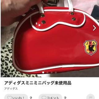 アディダス(adidas)の1996年ワールドサッカー記念ミニバッグ(記念品/関連グッズ)