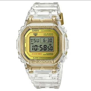 ジーショック(G-SHOCK)のG-SHOCK DW-5035E-7JR 35周年 クリア スケルトン 透明(腕時計(デジタル))