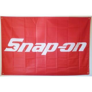 スナップオン Snapon 超特大 フラッグ タペストリー 旗(ロールスクリーン)
