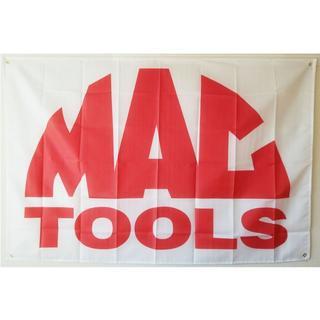 マックツール MAC TOOLS 旗 フラッグ バナー タペストリー(ロールスクリーン)