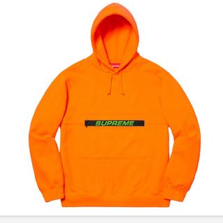 Supreme - 最安値 Zip Pouch Hooded Sweatshirt
